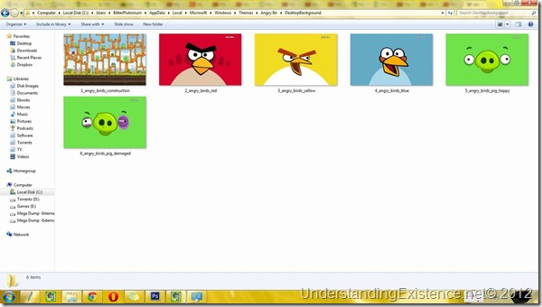 Win 7 theme images