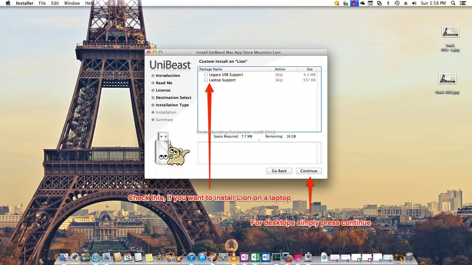 Mac OS X Lion Hackintosh Guide   Understanding Existence